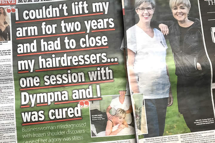 Mum is pain-free after years of fruitless treatments
